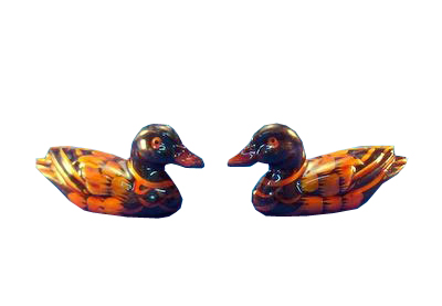 Los patos mandarines