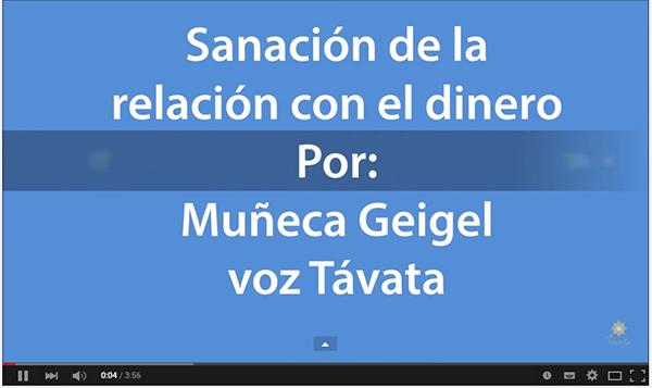 #Audio Sanación de mi relación con el dinero – Texto Muñeca Géigel voz Távata