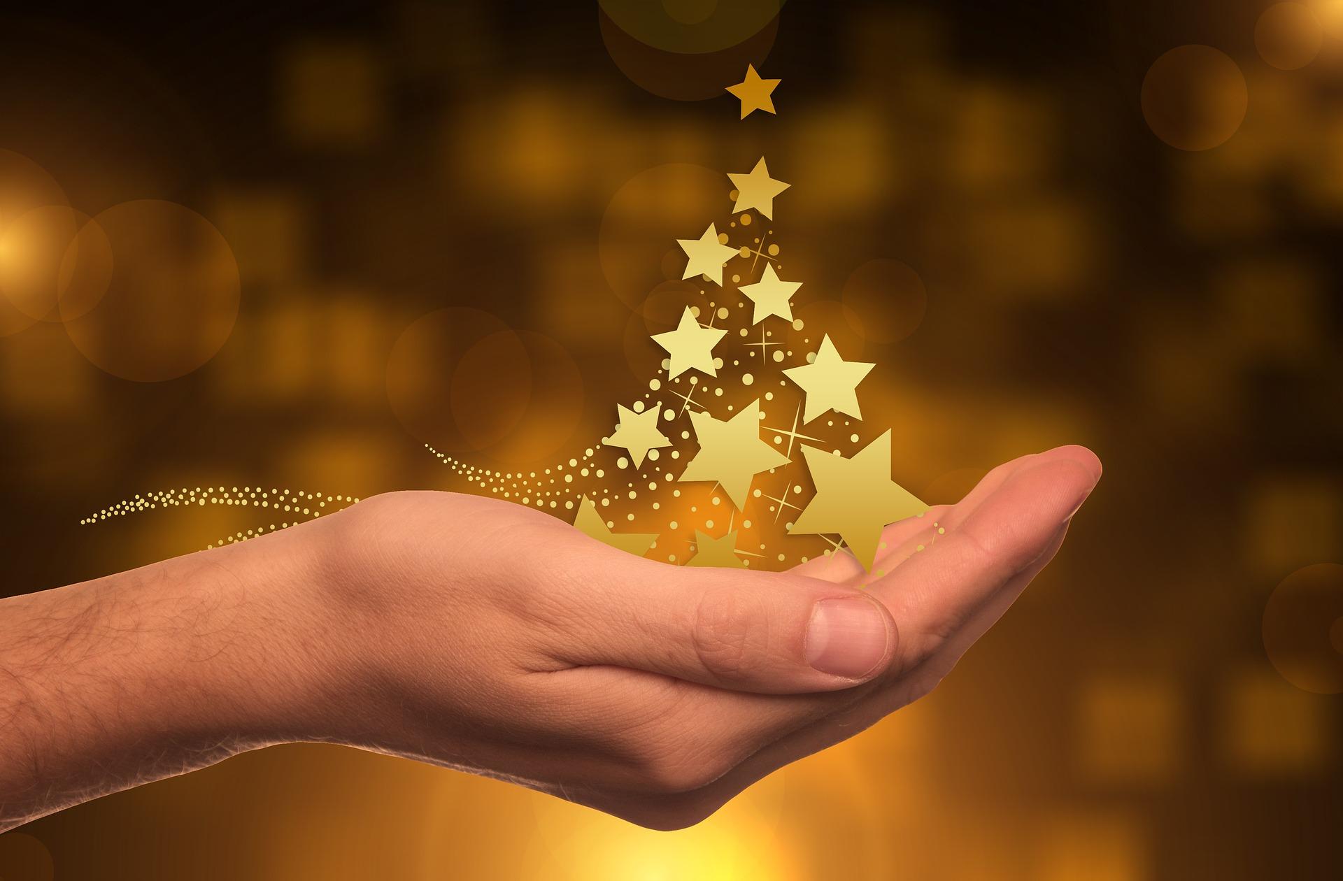 ¿Cómo atraer prosperidad con la ubicación de los objetos navideños?