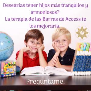Desearías tener hijos más tranquilos y armoniosos_ La terapia de las Barras de Access te los mejoraría. Pregúntame. (1)
